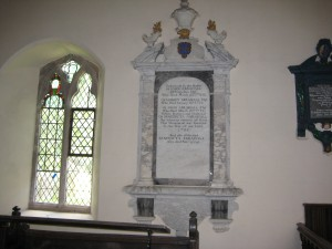 Foy - Herefordshire - St. Mary - memorial plaque2