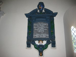 Foy - Herefordshire - St. Mary - memorial plaque3