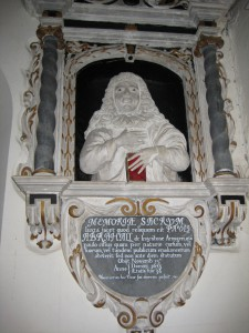Foy - Herefordshire - St. Mary - memorial plaque4