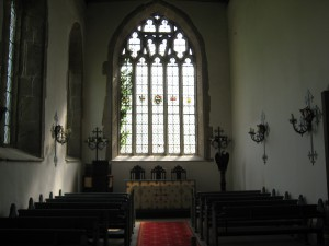 Hampton Court Castle - Herefordshire - Chapel - interior