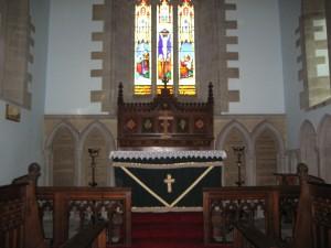 Hardwicke - Herefordshire - Holy Trinity - interior