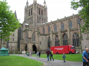 Hereford cathedral exterior resized
