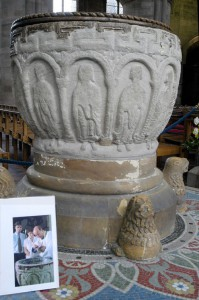Hereford Cathedral - font