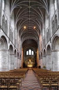 Hereford Cathedral - nave
