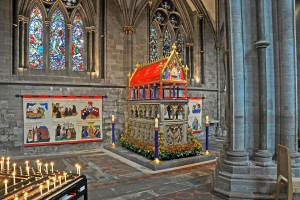Hereford Cathedral - shrine