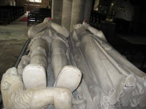 Holme Lacy - Herefordshire - St. Cuthbert -effigies