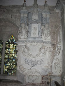 Holme Lacy - Herefordshire - St. Cuthbert - memorial2