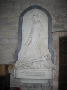 Holme Lacy - Herefordshire - St. Cuthbert - memorial3