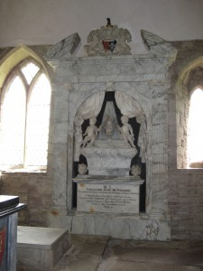 Holme Lacy - Herefordshire - St. Cuthbert - memorial4