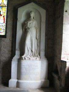 Holme Lacy - Herefordshire - St. Cuthbert - memorial5