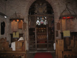 How Caple - Herefordshire - St. Andrew with St. Mary - interior