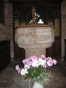 How Caple - Herefordshire - St. Andrew with St. Mary - second font