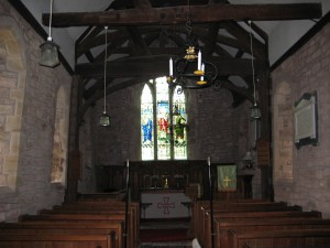 Kenchester - Herefordshire - St. Michael - interior