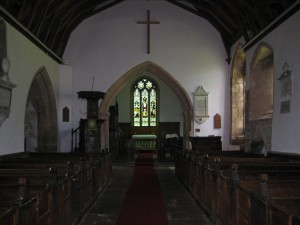 Kings Caple - Herefordshire - St. John the Baptist - interior