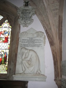 Kings Caple - Herefordshire - St. John the Baptist - memorial plaques2