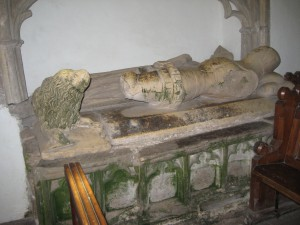 Kings Pyon - Herefordshire - St. Marys - mortimer effigy