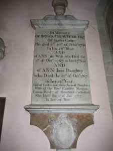 Kingsland - Herefordshire - St. Michael & All Angels - memorial2