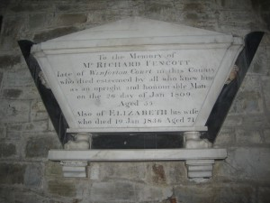 Kington - Herefordshire - St. Mary the Virgin - memorial plaque 3