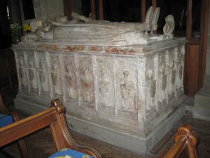 Kington - Herefordshire - St. Mary the Virgin - tomb