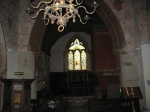 Kinnersley - Herefordshire - St. James - interior
