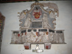 Kinnersley - Herefordshire - St. James - Smallman monument