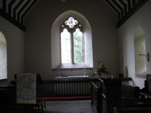 Kinsham - Herefordshire - All Saints - interior