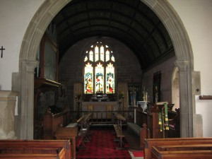 Lea - Herefordshire - St. John the Baptist - interior