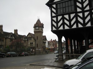 Ledbury memorial clock tower