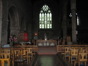 Leominster - Herefordshire - St. Peter & St. Paul Priory - interior