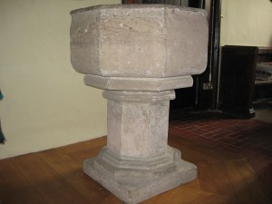 Lingen - Herefordshire - St. Michael & All Angels - font