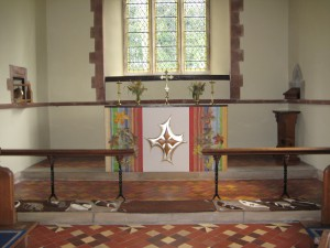 Lingen - Herefordshire - St. Michael & All Angels - interior