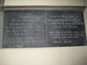 Lingen - Herefordshire - St. Michael & All Angels - memorial