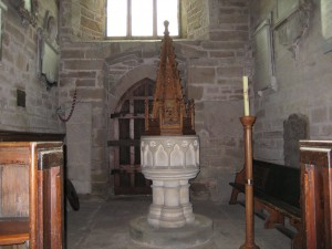 Linton - Herefordshire - St. Mary - font