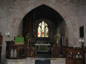 Linton - Herefordshire - St. Mary - interior