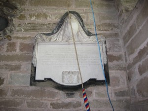 Linton - Herefordshire - St. Mary - memorial2