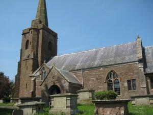 Llangarron - Herefordshire - St. Deinst - exterior
