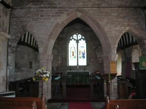 Llangarron - Herefordshire - St. Deinst - interior