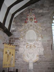Llangarron - Herefordshire - St. Deinst - memorial2