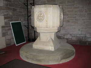 Llangrove - Herefordshire - Christ Church - font