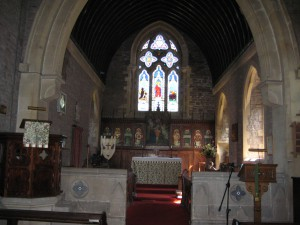 Llangrove - Herefordshire - Christ Church - interior