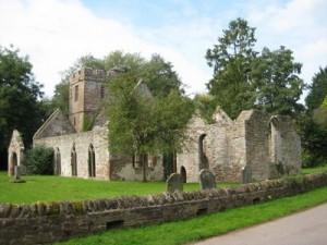 Llanwarne_Herefordshire_former_St_John_the_Baptist_exterior