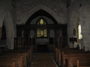 Lyonshall - Herefordshire - St. Michael & All Angels - interior