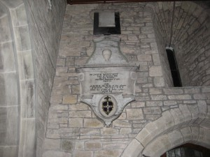 Lyonshall - Herefordshire - St. Michael & All Angels - memorial 2