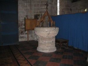 Madley - Herefordshire - Nativity_of_the_Blessed_Virgin_Mary - font