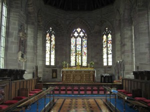 Madley - Herefordshire - Nativity_of_the_Blessed_Virgin_Mary - interior