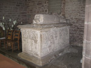 Madley - Herefordshire - Nativity_of_the_Blessed_Virgin_Mary - tomb