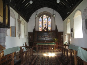 Mansell Lacy - Herefordshire - St. Michael - interior
