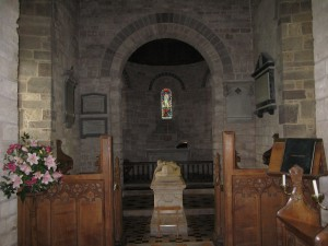 Moccas - Herefordshire - St. Michael & All Angles - interior