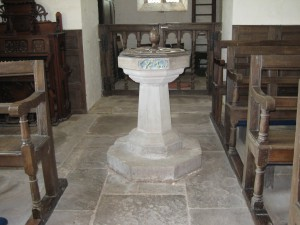 Monnington on Wye - Herefordshire - St. Mary - font