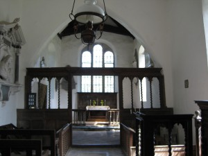 Monnington on Wye - Herefordshire - St. Mary - interior
